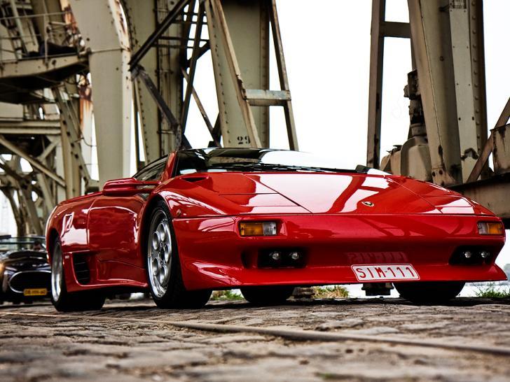 Lamborghini Diablo Sv Engine Gearbox Dash Performance
