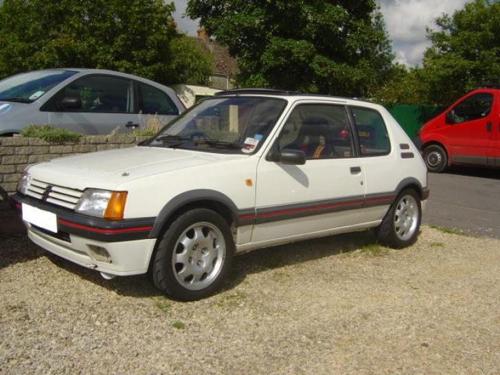 Supercharged Peugeot 205 1.9Gti   Performance & Trackday Cars for ...