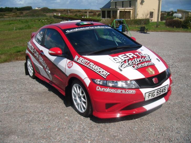 2011 rally honda civic type r fn2 rally cars for sale at for Honda civic rally car