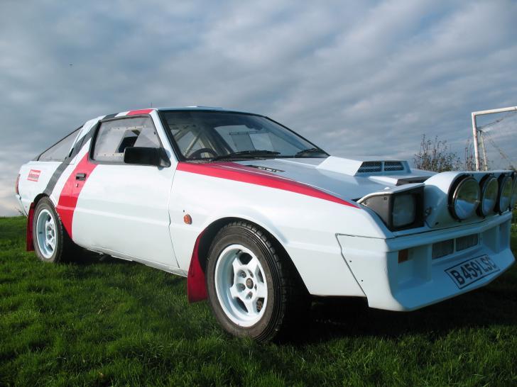 Mitsubishi Starion Rally Car For Sale