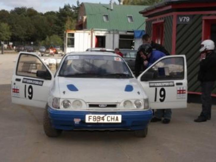 Sierra Cosworth Unfinished Project Race Cars For Sale At Raced