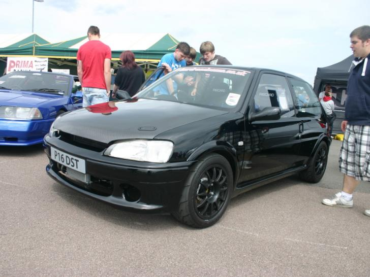 Performance Trackday Cars: Throttlebodied 106 Track/race Car