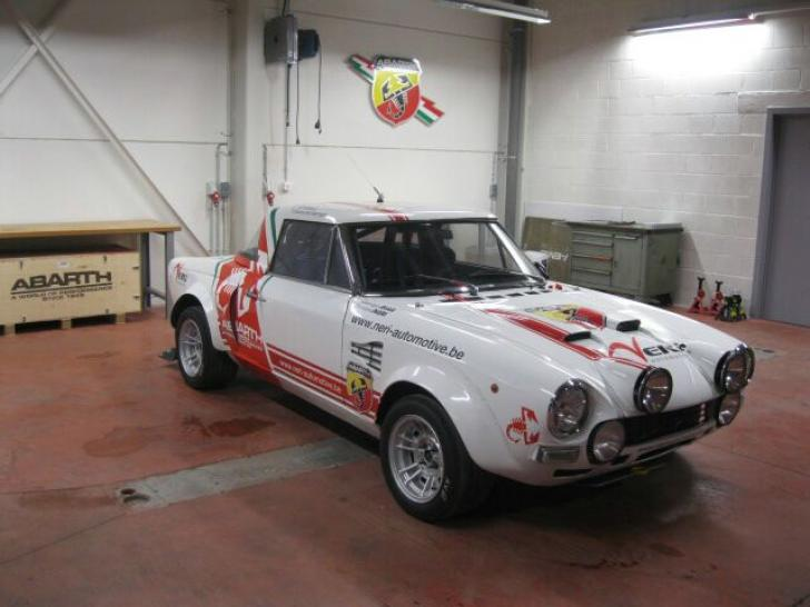 Fiat Abarth 124 Gr4 Rally Cars For Sale At Raced Rallied Rally