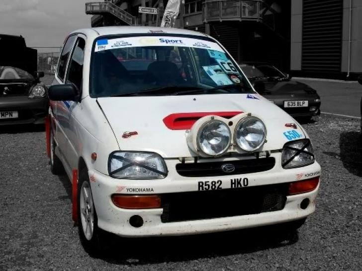 Race Car For Sale >> Harry Hockly prepared Daihatsu Cuore Avanzato TRXX-R4, Turbo 4wd rally car | Rally Cars for sale ...