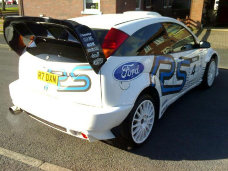 1999 Ford Focus 2 0 Turbo Rs Wrc Rally Car Modified St