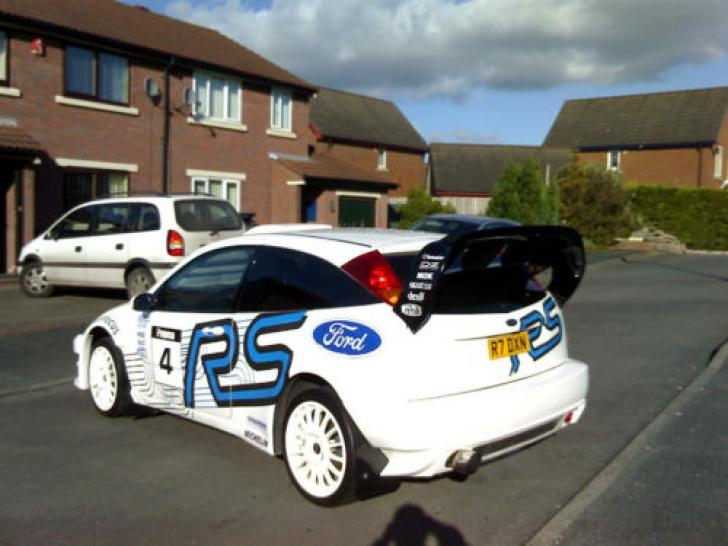 1999 Ford Focus 2 0 Turbo Rs Wrc Rally Car Modified St Rally Cars