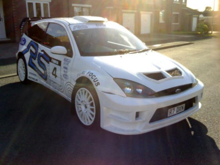 Ford Focus 1999 >> 1999 Ford Focus 2.0 Turbo RS WRC Rally Car Modified ST ...