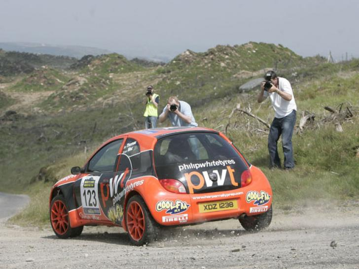 ford ka rally car