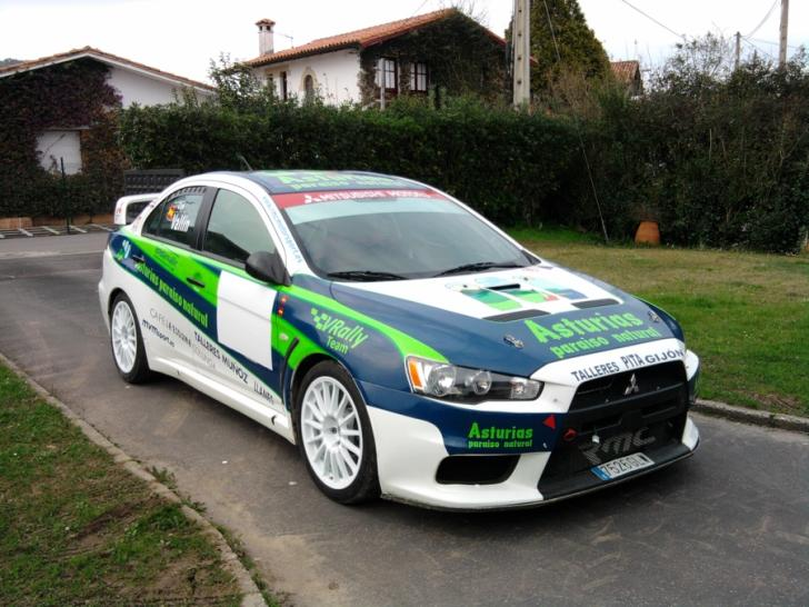 Mitsubishi Evolution X Rally Cars For Sale