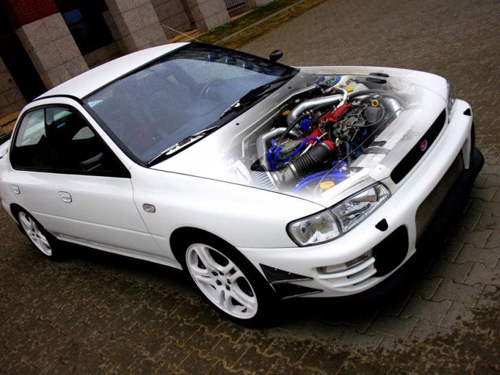 Performance Trackday Cars For Sale At: Tomei Stroker EJ22 Subaru Impreza STI Hybrid Classic