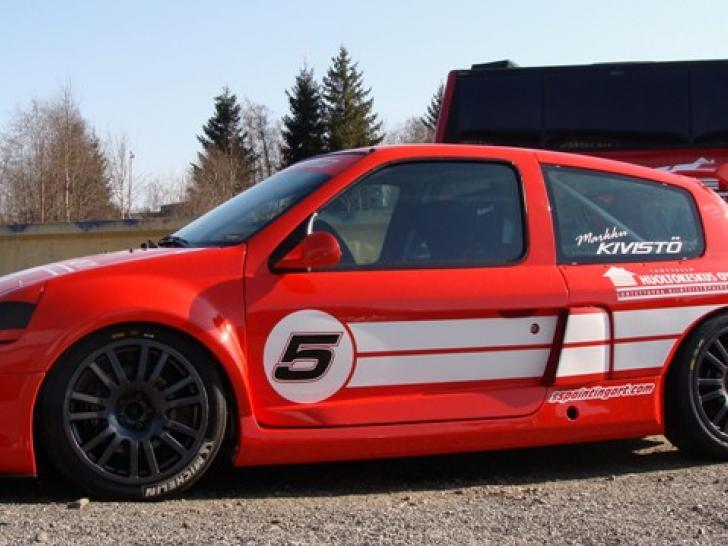 Renault Clio V6 Trophy Race Cars For At Raced Rallied Rally
